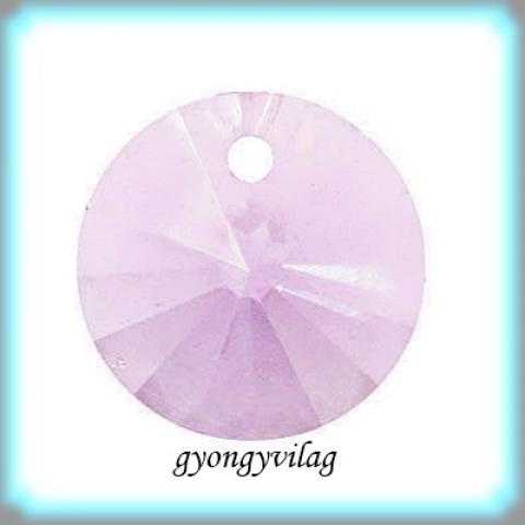 1Swarovski  rivoli  6mm-es  6db/csomag light amethyst GYSWM RI6, Gyöngy, ékszerkellék, Swarovski kristályok, Eredeti swarovski kristály rivoli medál.  6 darab / csomag  Szin:light amethyst Méret:6 mm  Az á..., Alkotók boltja