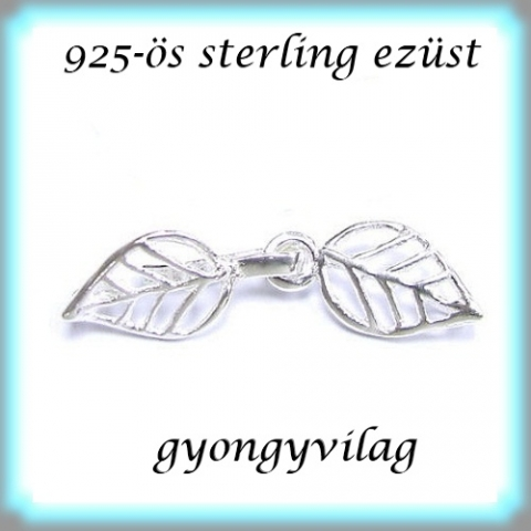 925-s ezst 1soros lnckapocs ELK 1S 22, Gyngy, kszerkellk, Egyb alkatrsz, 925-s fmjellel elltott valdi sterling ezst (bevizsglt)1 soros lnckapocs.