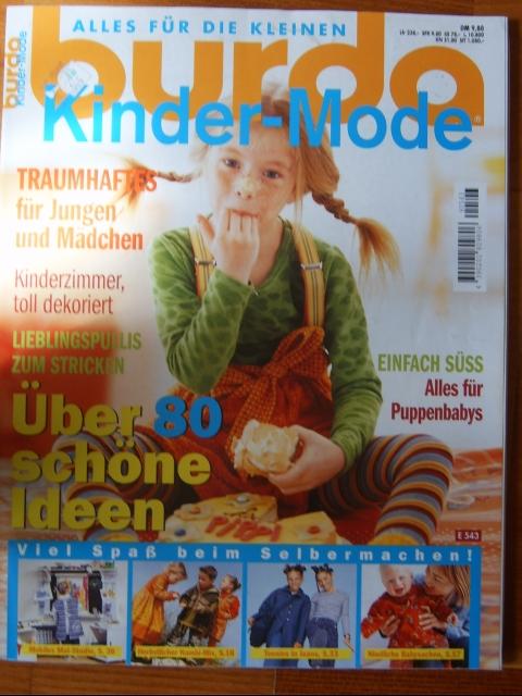 burda gyerek ruhák, Könyv, újság, Újság, Burda , Alkotók boltja