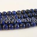-Fazettált Lapisz Lazuli ásvány 8 mm,  12 db/ csomag, Gyöngy, ékszerkellék, Féldrágakő, Ékszerkészítés, Gyöngy, Természetes Lapisz Lazuli ásvány.  Fazettált.   Méret: 8 mm Lyuk: 1 mm Szín: kék  Az ár 12 db / cso..., Alkotók boltja