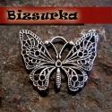 Antik ezüst színű óriás pillangó. medál, charm, Gyöngy, ékszerkellék, Antik ezüst színű óriás pillangó. medál, charm. Mérete: 48x36mm. Az ár 1 db termékre vonatkozik.  st..., Alkotók boltja