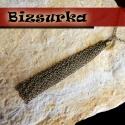 Antik bronz, nagy láncbojt (8 cm), Gyöngy, ékszerkellék, Antik bronz, nagy bojt 2x3 mm-s láncból készült.  Vastagság: 8mm, hosszúsága: 8 cm.  Az 1db-ra vonat..., Alkotók boltja