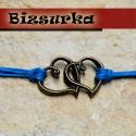 Antik bronz dupla szív medál,köztes, Gyöngy, ékszerkellék, Fém köztesek, Antik bronz dupla szív medál,köztes.Medálnak,karkötőnek is alkalmas.  Mérete: 32 x 21 mm.  Az ár 1 d..., Alkotók boltja