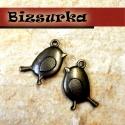 2 db Antik bronz pipi  medál , charm, Gyöngy, ékszerkellék, Egyéb alkatrész, Antik bronz pipi charm.  Ajánlom kulcstartónak, mobildísznek. Ha egy nyakláncra vagy egy bőrszálra f..., Alkotók boltja