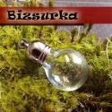 Gömbőc üvegpalack medál, charm 1db, Gyöngy, ékszerkellék, Üveg, Apró, gömbőc üvegpalack, charm. Feltöltheted apró gyönggyel, folyadékkal.  Készíthetsz belőle medált..., Alkotók boltja