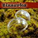 2db üvegkupola, félgömb 25 mm-s, Gyöngy, ékszerkellék, Üveg, Üveg félgömb,kupola Készíthetsz belőle medált, kulcstartót, gyűrűt.  Feltöltheted apró gyönggyel, fo..., Alkotók boltja