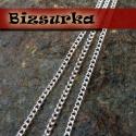 Ezüst színű  csavartszemű lánc (2x3mm), Gyöngy, ékszerkellék, Egyéb alkatrész, Ékszerkészítés, Szerelékek, Ezüst színű csavartszemű lánc,  Láncszemek mérete: 2 x 3 mm  Az ár 1 m hosszú láncra vonatkozik.  T..., Alkotók boltja