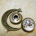 Patentos Noosa medál bronz színű, 3.tipus, Gyöngy, ékszerkellék, Alkotók boltja