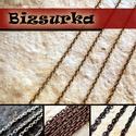 Keresztszemű lánc (2x3mm) / 4 színben, Gyöngy, ékszerkellék, Egyéb alkatrész, Ékszerkészítés, Szerelékek, Keresztszemű lánc   - antik bronz - nikkel ezüst színű - vörösréz színű - fekete (gunmetal)  Láncsz..., Alkotók boltja