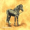 lovas anyagblokk, Textil, Vászon, Varrás, Szappankészítés, Textil, Ki ne szeretné a lovakat?  Ez a lovacska szerintem nagyon szívesen díszítene egy párnát, egy tornaz..., Alkotók boltja