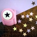 Csillag alakú lyukasztó, Szerszámok, eszközök, Vágóeszköz, kézi, Papírművészet, Mindenmás, Csillag formát kivágó, kicsi lyukasztógép.  A kézi lyukasztó papír vágására alkalmas. Használata eg..., Alkotók boltja