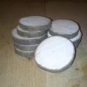Fakorong - juhar, Fa, Egyéb fatermék, Famegmunkálás, 3 - 5 cm átmérőjű 7 mm vastag fakorongok. 1 csomag 10 db-ot tartalmaz. Középkemény fa. Kérge hosszú..., Alkotók boltja
