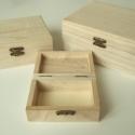 Kicsi natúr fa ládika / doboz 2 forma, 2 színben, Fa, Díszíthető tárgyak, Decoupage, szalvétatechnika, Famegmunkálás, Festett tárgyak, festészet, Szép, dekupázs technikához is kiváló natúr avagy sötét erezetű fa doboz / (kincses) ládika, kétféle ..., Alkotók boltja