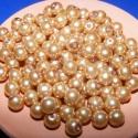 Viaszgyöngy 8mm(arany), Gyöngy, ékszerkellék, Üveggyöngy, Alkotók boltja