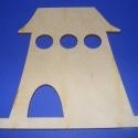 Fa madárházikó(3-s kör/1db), Csináld magad leírások, Egyéb alkatrész, Decoupage, szalvétatechnika, Famegmunkálás, Szerelékek, Fa madárházikó(3-s kör/1db) A fa alapból egyéni függődíszeket,fali dekorációkat készíthetünk. Méret..., Alkotók boltja