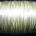 """Szatén zsinór - 2 mm (ZS26/B minta/5 m) - vanília, Fonal, cérna, Ékszerkészítés, Kötés, horgolás, Szatén zsinór - más néven """"patkányfarok"""" (ZS26/B minta) - vanília  Kiválóan alkalmas fonási technik..., Alkotók boltja"""