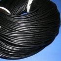 Hasított bőrszíj - 3 mm (1. minta/1 m) - fekete , Gyöngy, ékszerkellék, Egyéb alkatrész, Ékszerkészítés, Szerelékek, Hasított bőrszíj - 3 mm (1. minta/1 m) - fekete  Mérete 3mm átmérőjű.Valódi hasított marhabőrből ké..., Alkotók boltja