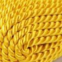 Sodrott zsinór (ZS4202/CS 1m), Fonal, cérna, Ékszerkészítés, Kötés, horgolás, Színes nylon sodrott zsinór,arany.Cseh minőség. Mérete :5mm/1méter. Az ár 1méter zsinórra vonatkozi..., Alkotók boltja
