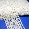 Pamut csipke-14  (50mm/3m beige), Textil, Varrás, Csipke, Pamut csipke-14  (50mm/3m beige) Kiváló minőségű pamut alapanyagú csipke. Az ár 3 méter anyagra von..., Alkotók boltja