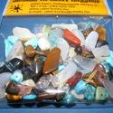 Ásványgyöngy-47 (100 db) - mix, Gyöngy, ékszerkellék, Ékszerkészítés, Gyöngy, Ásványgyöngy-47 - mix  Mérete: 5-15 mm  A csomag 100 db ásványgyöngyöt tartalmaz. Az ár egy csomag ..., Alkotók boltja