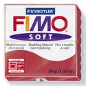 Fimo soft - 26 (cseresznye), Vegyes alapanyag, Egyéb alapanyag, Gyurma, Fimo, Fimo soft - 26 - cseresznye  Mérete: 55x55 mm Súlya: 56 g  Felhasználási javaslat: Gyúrd át a FIMO ..., Alkotók boltja