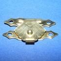 Doboz csat-23 (1 db) - arany, Csat, karika, zár, Szerszámok, eszközök, Ékszerkészítés, Famegmunkálás, Szerelékek, Díszes doboz csat-23 - arany színben Mérete: 30x20 mm Furatok mérete: 2 mm  Az ár egy darab termékr..., Alkotók boltja