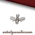 925 valódi ezüst CHARM; B254 - sterling ezüst medál, Gyöngy, ékszerkellék, 925-ös ezüst charm  A méretek értelmezéséhez kattints további termékfotóinkra: A=12,80 mm?; B=15,00 ..., Alkotók boltja