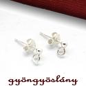 925 valódi ezüst 925 valódi ezüst FÜLBEVALÓ ALAP - sterling ezüst fülbevalóalap #200, Gyöngy, ékszerkellék, 925-ös ezüst fülbevaló alap  Hossza: 13 mm  Amit a 925-ös sterling ezüst alkatrészek-ről Neked és le..., Alkotók boltja