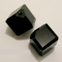 Swarovski kocka átlósan fúrt 8mm-es, Gyöngy, ékszerkellék, Swarovski kristályok, SWAROVSKI KRISTÁLY  KOCKA , ÁTLÓSAN FÚRT !   Méret:8mm   Az ár egy darabra vonatkozik!   Készlet:  c..., Alkotók boltja