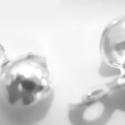 925-ös ezüst csomótakaró ECST05, Gyöngy, ékszerkellék, Egyéb alkatrész, Ékszerkészítés, Mindenmás, Szerelékek, 925-ös valódi ezüst (bevizsgált) csomótakaró.  1pár(2db) /csomag  A méreteket a fotón láthatod.  Az..., Alkotók boltja