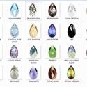Swarovski csepp 16mm-es több színben, Gyöngy, ékszerkellék, Swarovski kristályok, SWAROVSKI KRISTÁLY CSEPP TÖBB SZÍNBEN !  Méret:16mm  Az ár egy darabra vonatkozik!  A színtáblázatot..., Alkotók boltja