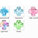 Swarovski kereszt 20mm több színben, Gyöngy, ékszerkellék, Swarovski kristályok, SWAROVSKI KRISTÁLY KERESZT MEDÁL, TÖBB SZÍNBEN !  Méret:20mm  Az ár egy darabra vonatkozik!  A nem b..., Alkotók boltja