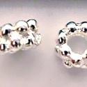925-ös ezüst köztes/gyöngy/díszitőelem  EKÖ 05 , Gyöngy, ékszerkellék, Fém köztesek, EKÖ 05   925-ös valódi  ezüst (bevizsgált) köztes / gyöngy / díszitőelem .    1 db / csomag    Az ez..., Alkotók boltja