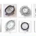 fűzhető óraszerkezet , Gyöngy, ékszerkellék, Egyéb alkatrész, Fűzhető óraszerkezet.   Az ár 1 db órára vonatkozik.       A 43-as  sorszámúból 2,  a többiekbők 1-1..., Alkotók boltja