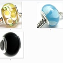 925-ös sterling ezüst medál / pandora EM-P 24, Gyöngy, ékszerkellék, Fém köztesek, EM-P 24  925-ös valódi ezüst (bevizsgált) muránoi medál, pandóra lánc-karkötő készítéséhez .  1 db /..., Alkotók boltja