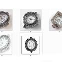 fűzhető óraszerkezet több féle, Gyöngy, ékszerkellék, Egyéb alkatrész, Fűzhető óraszerkezet.   Az ár 1 db órára vonatkozik.         , Alkotók boltja