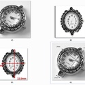 f?zhet? óraszerkezet több féle, Gyöngy, ékszerkellék, Egyéb alkatrész, F?zhet? óraszerkezet.   Az ár 1 db órára vonatkozik.         , Alkotók boltja