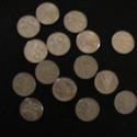 15 db régi 20- filléres érme, Dekorációs kellékek, Díszíthető tárgyak, Fémmegmunkálás, ötvösség, Ékszerkészítés, Szervusztok , a fotón látható 15 db 20 filléres régi pénz érmék ,  meg maradtak , eladásra kínálom ..., Alkotók boltja