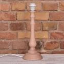 Natúr bükkfa asztali lámpatest, magas, Díszíthető tárgyak, Fa, Famegmunkálás, Esztergált bükkfa lámpatest, amelyet saját ízlésedre festhetsz, dekorálhatsz.  A lámpatest vezetékk..., Alkotók boltja