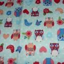 Baglyok 4 féle német egyedi Design textil:o)  70 x 30 cm minőségi textil , Textil, Pamut, Mindenmás, Varrás, Textil, Kiváló minőségű - egyedi tervezésű - jogvédett termék -  Textil - akár - patchwork - anyag  USA Des..., Alkotók boltja