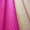 Pöttyösök 9 színben design textil 70 x 50 cm minőségi  textil, Textil, Pamut, Kiváló minőségű - egyedi tervezésű - jogvédett termék -  Textil - akár - patchwork - anyag  100% des..., Alkotók boltja