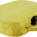 Táska formájú fa doboz, Díszíthető tárgyak, Fa, Decoupage, szalvétatechnika, Famegmunkálás, Festett tárgyak, festészet, Dekorálható fa doboz, táska formájú. 18cm x 14cm x 5cm, Alkotók boltja
