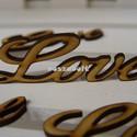 Natúr fa Love felirat 8cm 5db/csomag, Dekorációs kellékek, Díszíthető tárgyak, Famegmunkálás, Mindenmás, Natúr fa Love felirat 8cm 5db/csomag Figyelj! Csomag ár!  Méret 8*2,5cm vastagság:3mm  Love felirat..., Alkotók boltja