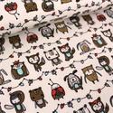 Vanilla Rambazamba BIO jersey textil 25x 180 cm, Textil, Pamut, Varrás, Textil, Extra széles BIO jersey textil 180cm.  95% bio pamut és 5% elasztán ökológiai és etikai normák szer..., Alkotók boltja