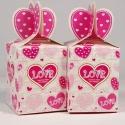 Rózsaszín papír ajándékdoboz, Csomagolóanyag, Doboz, henger, Papír ajándékdoboz  Az ár 1 db-ra vonatkozik   Akár bonbonnak, akár ékszernek vagy egyéb kis ajándék..., Alkotók boltja