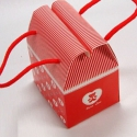 Piros macis papír ajándékdoboz, Csomagolóanyag, Doboz, henger, MACIS papír ajándékdoboz  Akár bonbonnak, akár ékszernek vagy egyéb kis ajándéknak  Esküvőre is kivá..., Alkotók boltja