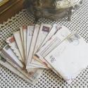Vintage stílusú borítékszett - 12db/cs, Papír, Egyéb papír, Vintage borítékcsomag - Utazás  12db boríték/szett  Mindegyik csomag vegyes mintájú borítékokat tart..., Alkotók boltja