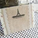 Vintage stílusú borítékszett -  (Eiffel) 10db/cs, Papír, Egyéb papír, Vintage borítékcsomag - Eiffel  10db boríték/szett  Mindegyik csomag ugyanolyan mintájú borítékokat ..., Alkotók boltja