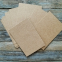 Barna Natúr Kraft karton képeslap alap , Papír, Egyéb papír, Papírművészet, Barna Natúr Kraft Képeslap alap  350g/m2, szép vastag, kitűnő minőség  Méret: 15,2cm x 10,6cm  Az á..., Alkotók boltja