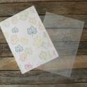Mintás viaszos szappan csomagolópapír FALEVELEK, Csomagolóanyag, Papír, Szappankészítés, Gyönyörű mintás csomagoló szappanhoz  9! db/csomag - utolsó csomag!  Áttetsző megoldás  Viaszolt  M..., Alkotók boltja